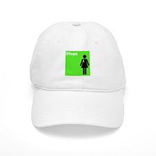 iHope (lime green) Baseball Cap