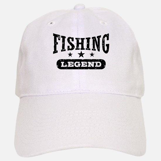 Fishing Legend Baseball Baseball Cap