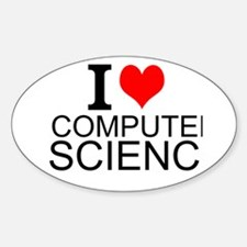 I Love Computer Science Decal