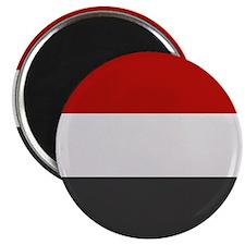 """""""Yemen Flag"""" 2.25"""" Magnet (100 pack)"""
