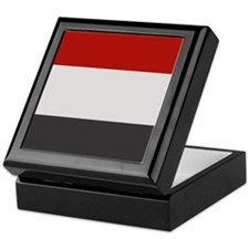 """""""Yemen Flag"""" Keepsake Box"""