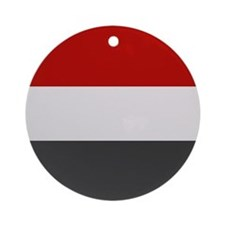 """Yemen Flag"" Ornament (Round)"