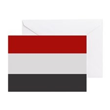 """Yemen Flag"" Greeting Cards (Pk of 10)"