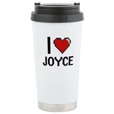 I Love Joyce Travel Mug
