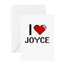 I Love Joyce Greeting Cards