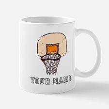 Cartoon Basketball Hoop Mugs
