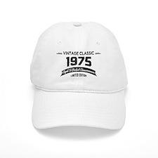 Born 1975 Aged To Perfection Baseball Baseball Cap