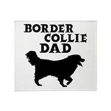 BORDER COLLIE Throw Blanket