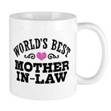 World's Best Mother In Law Mug