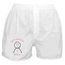 Happy B-day Noelle (1st) Boxer Shorts