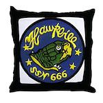 USS HAWKBILL Throw Pillow