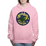 USS HAWKBILL Women's Hooded Sweatshirt