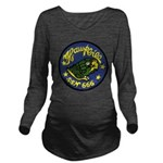 USS HAWKBILL Long Sleeve Maternity T-Shirt