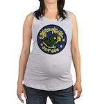 USS HAWKBILL Maternity Tank Top