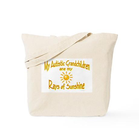 Rays Of Sunshine (Grandchildren) Tote Bag