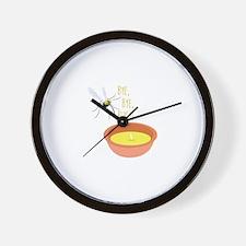 Bye Bugs Wall Clock