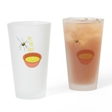 Bye Bugs Drinking Glass