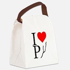 PYNYUSA Logo Canvas Lunch Bag