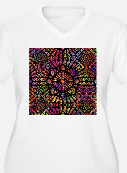 Window Plus Size T-Shirt