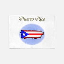 Puerto Rico 5'x7'Area Rug