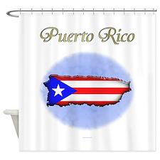 Puerto Rico Shower Curtain