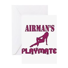 PLAYMATEAirForce Greeting Cards