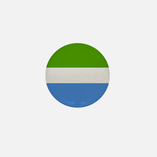 """Sierra Leone Flag"" Mini Button"