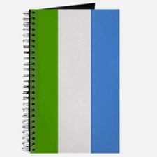"""Sierra Leone Flag"" Journal"