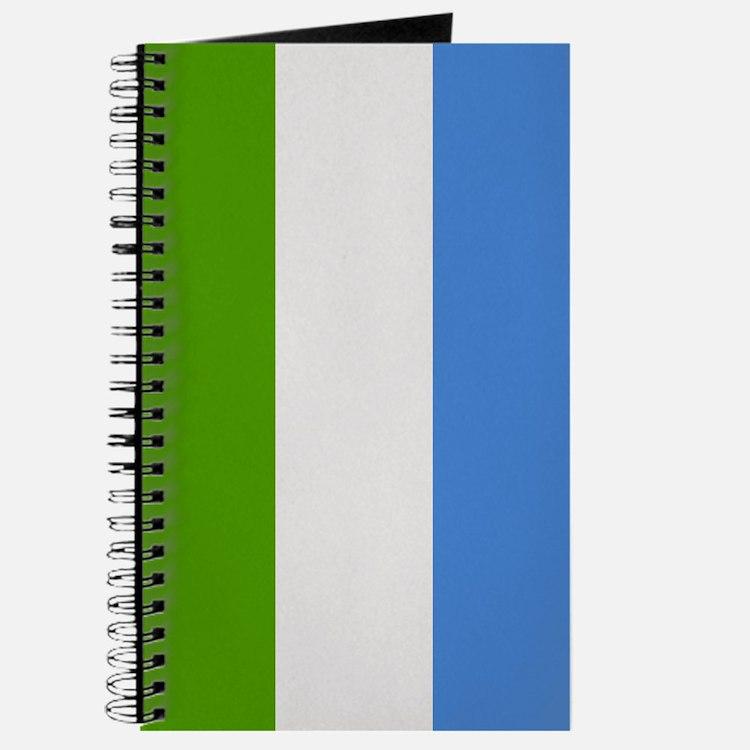 """""""Sierra Leone Flag"""" Journal"""