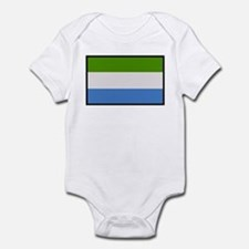 """Sierra Leone Flag"" Infant Bodysuit"