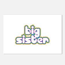 Rainbow Big Sister Postcards (Package of 8)