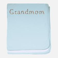 Grandmom Seashells baby blanket