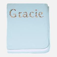 Gracie Seashells baby blanket