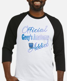 Official Grey's Anatomy Addict Baseball Jersey