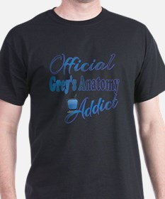 Official Grey's Anatomy Addict T-Shirt