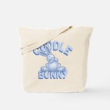 Cuddle Bunny -blu Tote Bag