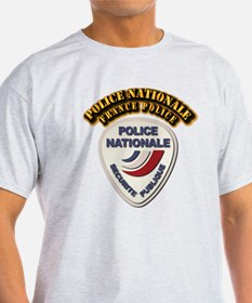 Police Nationale France Police with T-Shirt