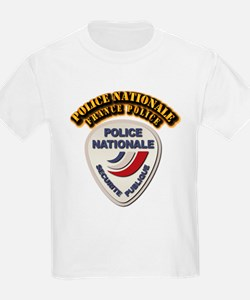 Police Nationale France Police T-Shirt