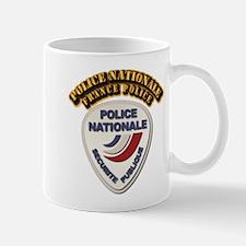 Police Nationale France Police with Tex Mug