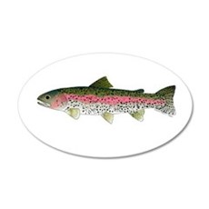 Rainbow Trout - Stream Wall Decal