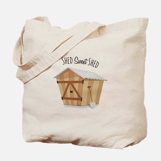 Sweet Shed Tote Bag