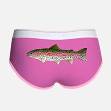 Rainbow Trout - Stream Women's Boy Brief