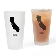 California State Shape Drinking Glass