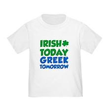 Cute Irish today hungover tomorrow T