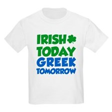 Cute Irish today hungover tomorrow T-Shirt