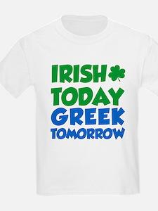 Cute Irish today hungover tomorrow T-Shirt