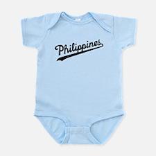 Philippines Script Body Suit