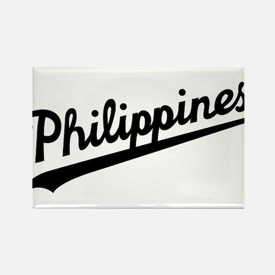 Philippines Script Magnets