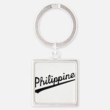 Philippines Script Keychains