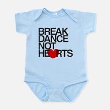 break dance not hearts Body Suit